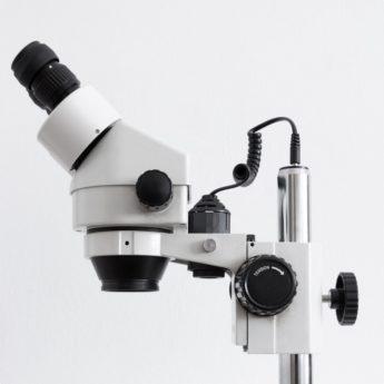 LED Lab Binocular Compound Microscope